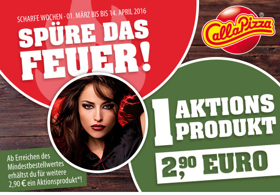 CaP - SPÜRE DAS FEUER - 1 Aktionsprodukt 2,90 Euro